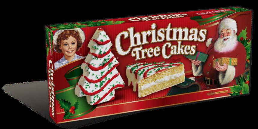 Little Debbie Christmas Tree Brownies  Christmas Tree Cake Van