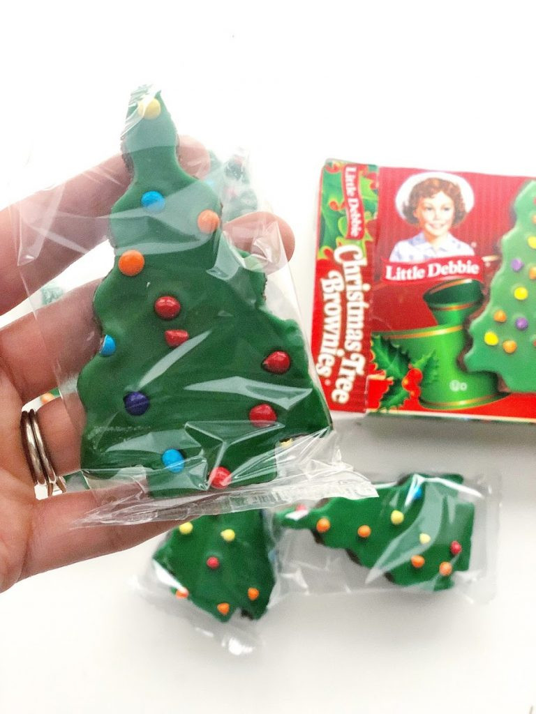 Little Debbie Christmas Tree Brownies  Christmas Graphing Activity for Kids The Inspired Apple