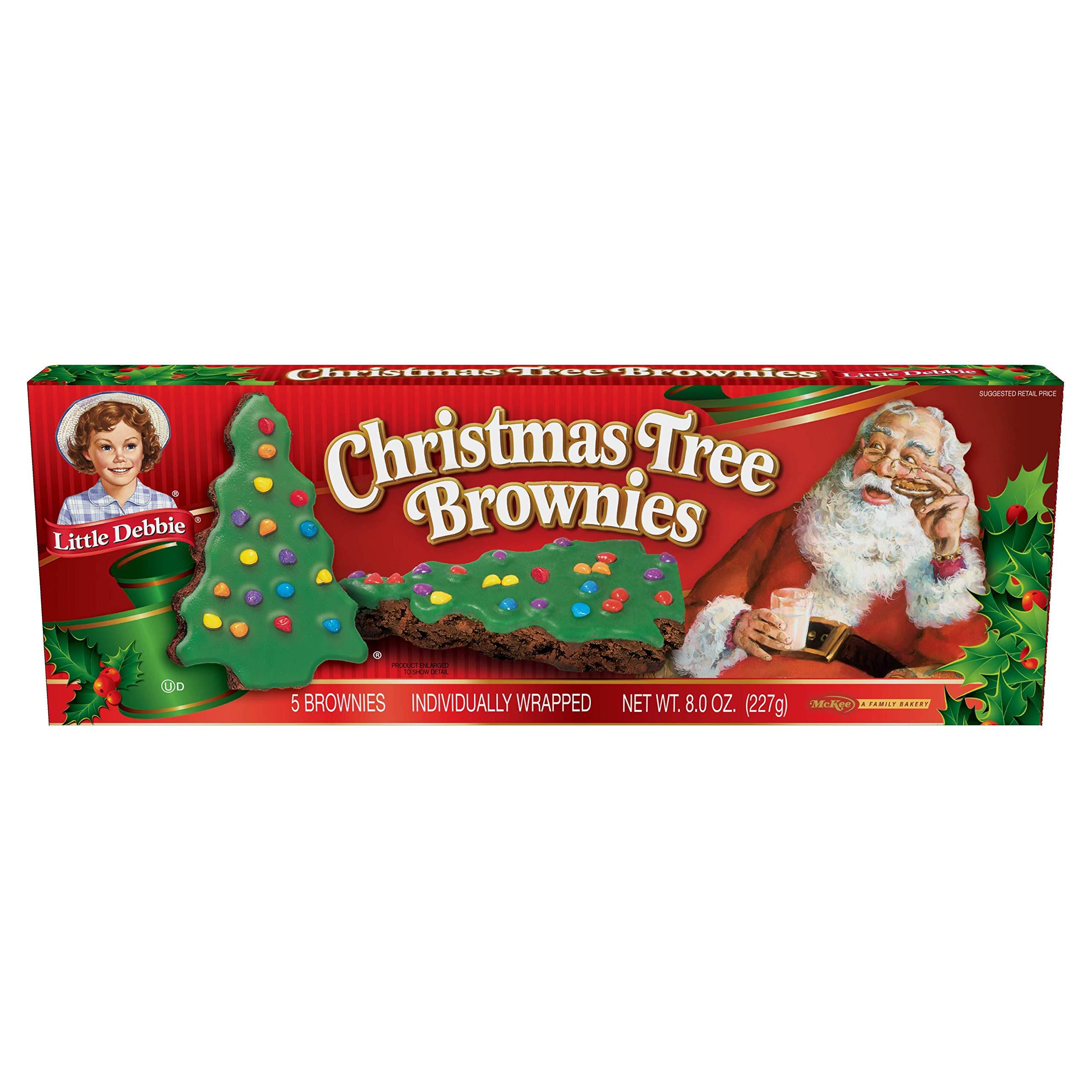 Little Debbie Christmas Tree Brownies  Little Debbie Vanilla Christmas Tree Cakes 2 Pack