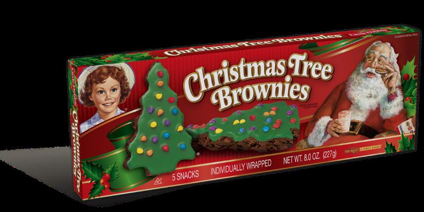 Little Debbie Christmas Tree Brownies  Christmas Tree Brownies