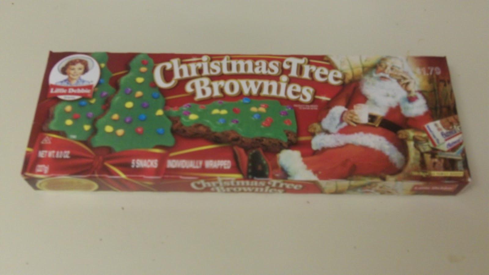 Little Debbie Christmas Tree Brownies  2012 THE INTERNET IS IN AMERICA