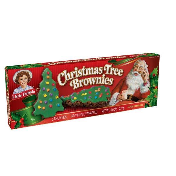 Little Debbie Christmas Tree Brownies  Little Debbie Christmas Tree Brownies 5 Individually