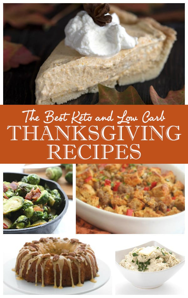 Low Carb Thanksgiving Desserts  The Ultimate Low Carb Keto Thanksgiving Recipes