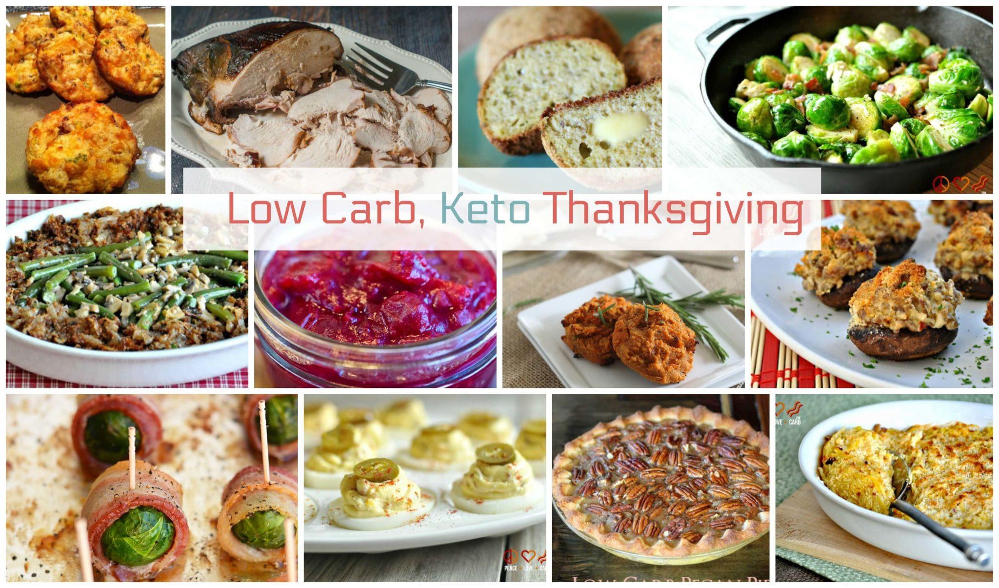 Low Carb Thanksgiving Desserts  Keto Thanksgiving Recipes