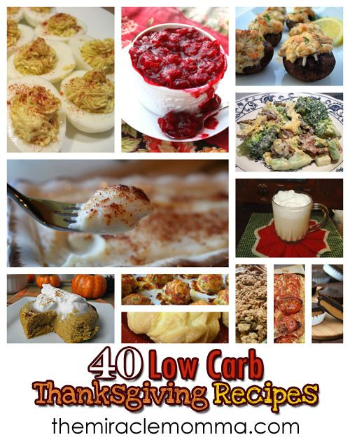 Low Carb Thanksgiving Desserts  40 LC Thanksgiving Recipes Low Carb Pinterest
