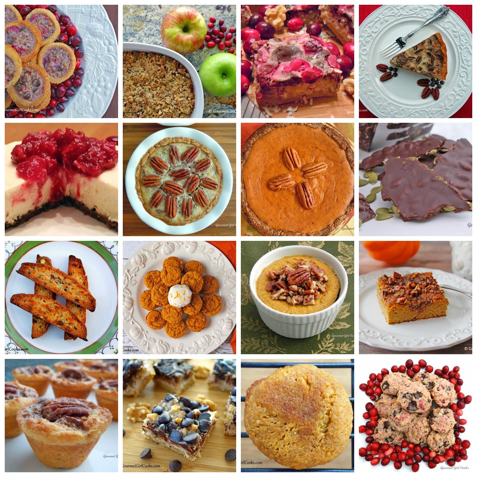 Low Carb Thanksgiving Desserts  Gourmet Girl Cooks 16 Thanksgiving Dessert Recipes Low