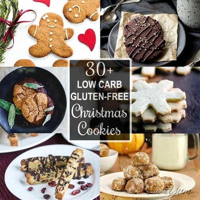 Low Sugar Christmas Cookies  30 Low Carb Sugar free Christmas Cookies Recipes Roundup