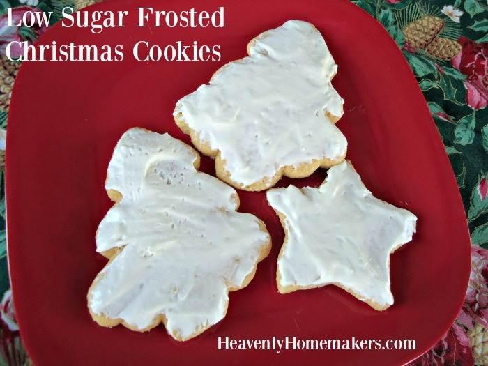 Low Sugar Christmas Cookies  Low Sugar Christmas Cookies