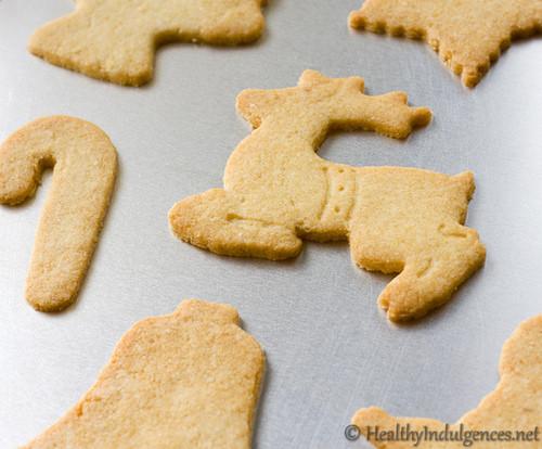 Low Sugar Christmas Cookies  Sugar Free Sugar Cookies for a Healthy Christmas Treat