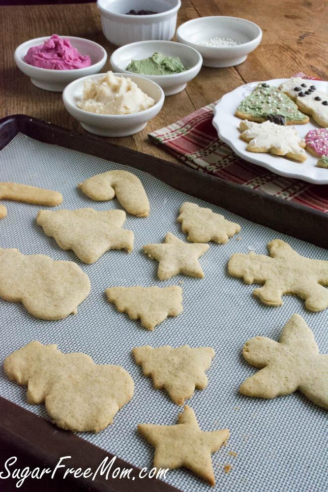 Low Sugar Christmas Cookies  Sugarless Low Calorie Sugar Cookies