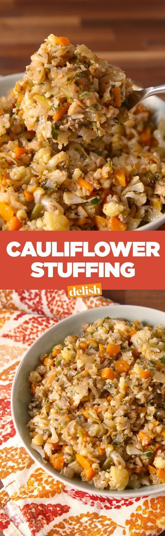Lowes Foods Thanksgiving Dinners  This Low Carb Cauliflower Stuffing Proves Bread Is So