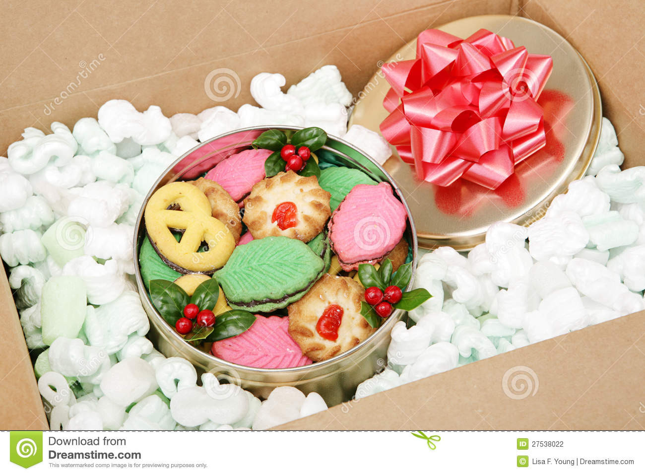 Mail Order Christmas Cookies  Mail Order Christmas Cookies Stock graphy Image