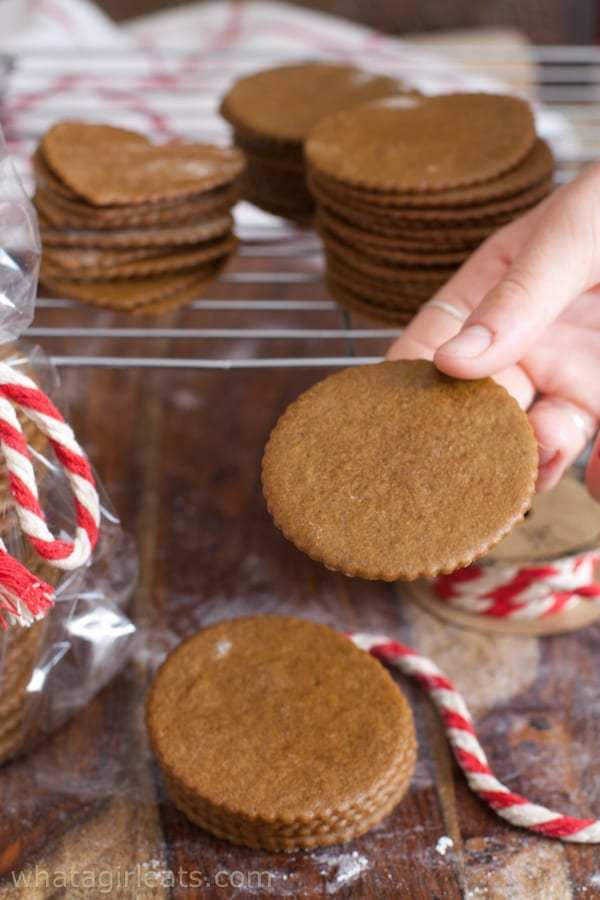 Mail Order Christmas Cookies  Moravian Molasses Cookies What A Girl Eats