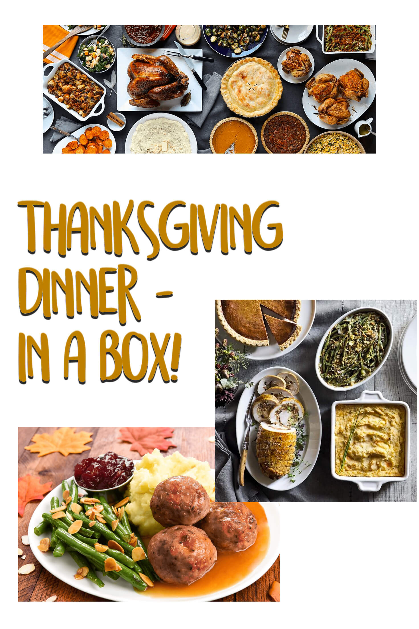 Mail Order Thanksgiving Dinners  Thanksgiving Dinner In A Box hello subscription