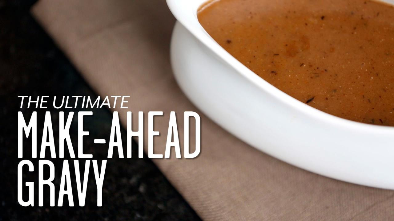 Make Ahead Gravy For Thanksgiving  The Best Make Ahead Gravy Southern Living
