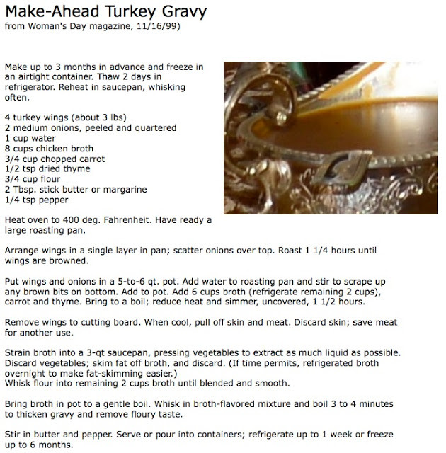 Make Ahead Gravy For Thanksgiving  Fun Fabrication Thanksgiving Weekend