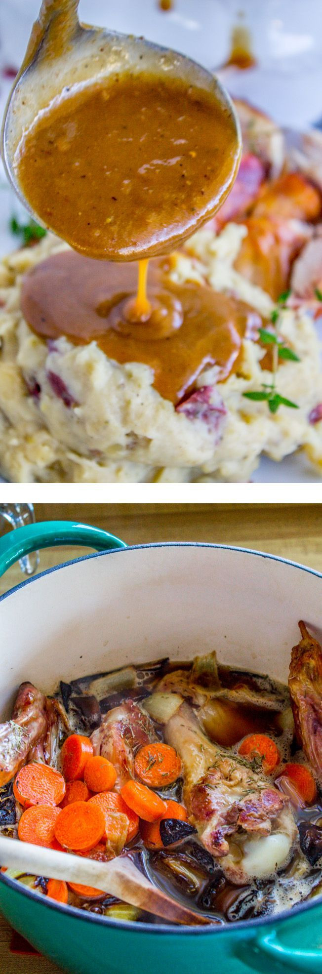 Make Ahead Thanksgiving Turkey  This make ahead and freeze gravy is so easy and saves