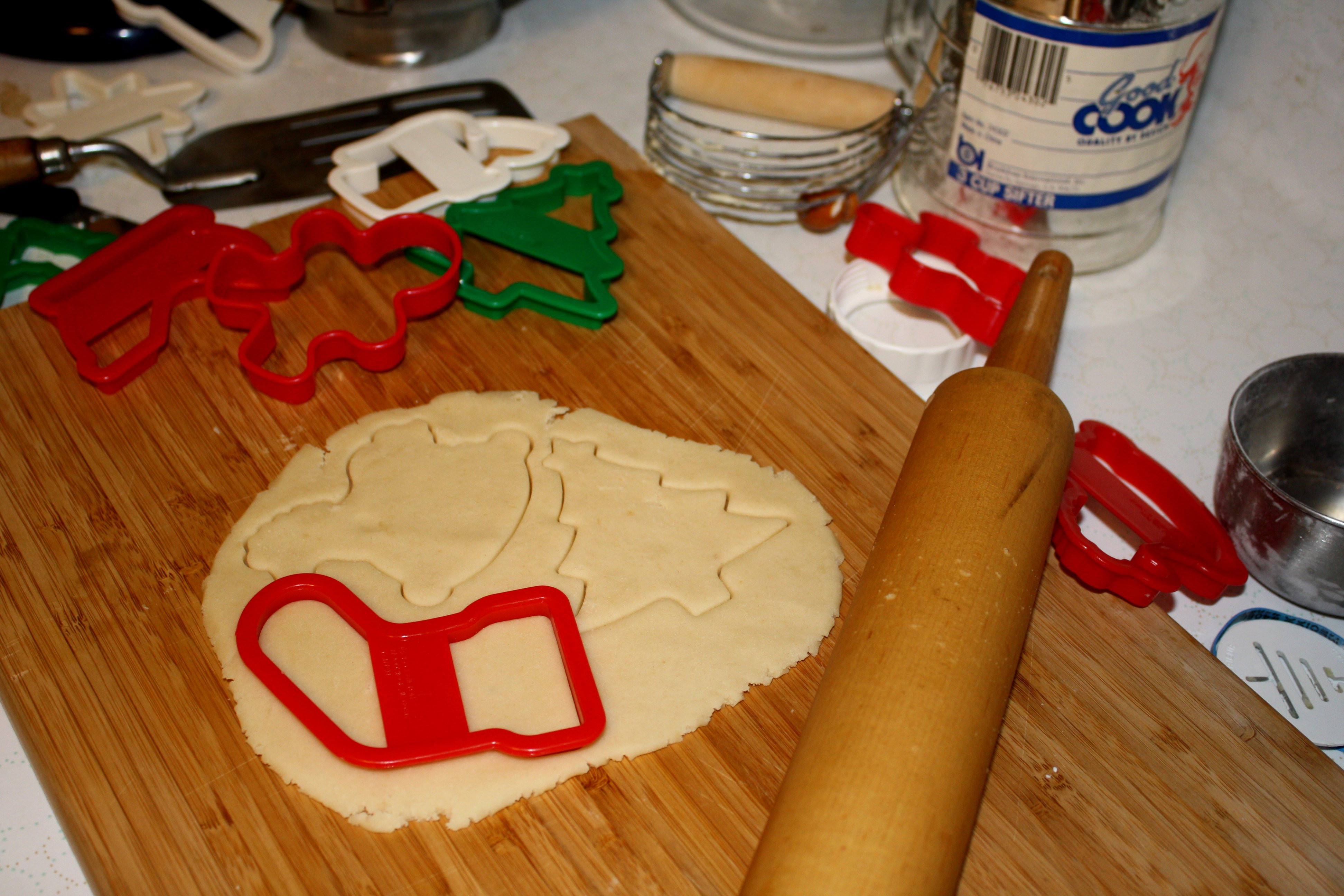 Making Christmas Cookies  Making Christmas Cookies Picture