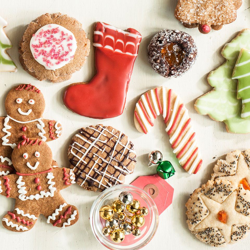 Making Christmas Cookies  How to Make Healthier Holiday Cookies EatingWell