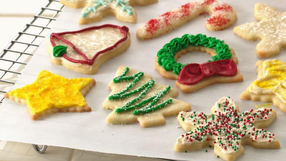Making Christmas Cookies  How to Make Cookies Pillsbury