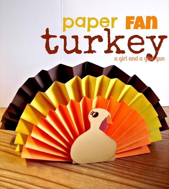 Making Thanksgiving Turkey  15 Thanksgiving Kids Crafts Classy Clutter