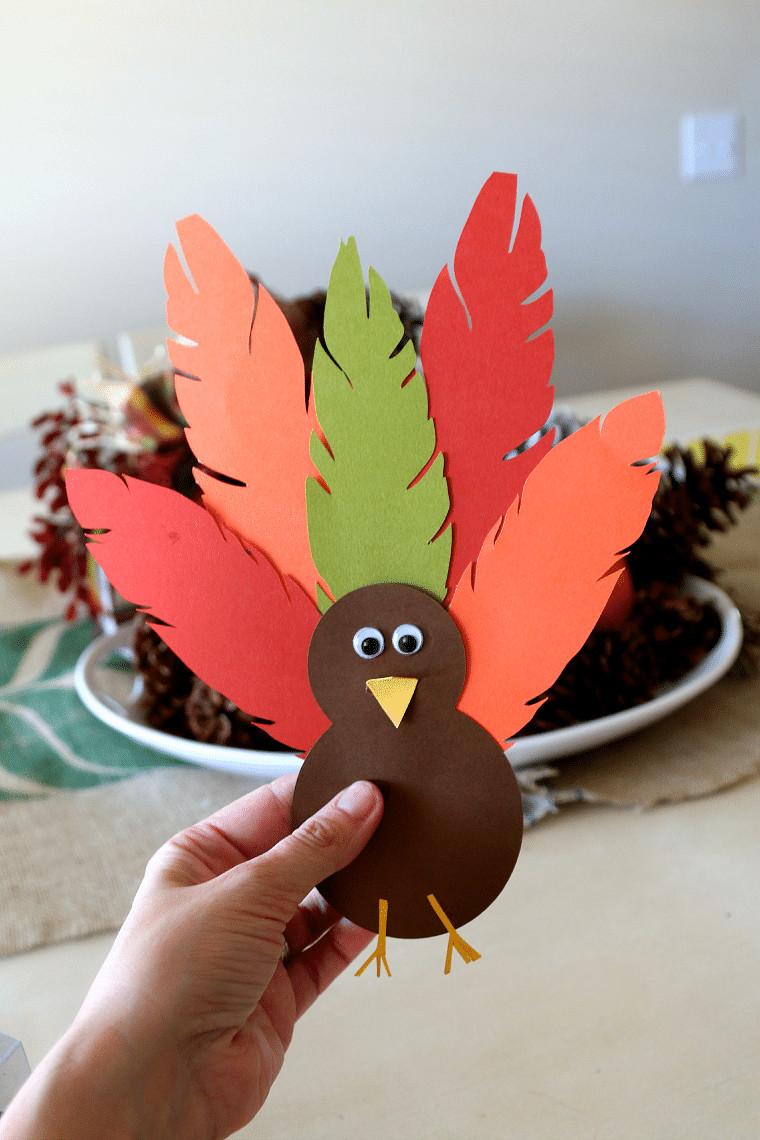 Making Thanksgiving Turkey  Thanksgiving Turkey Hat Tutorial