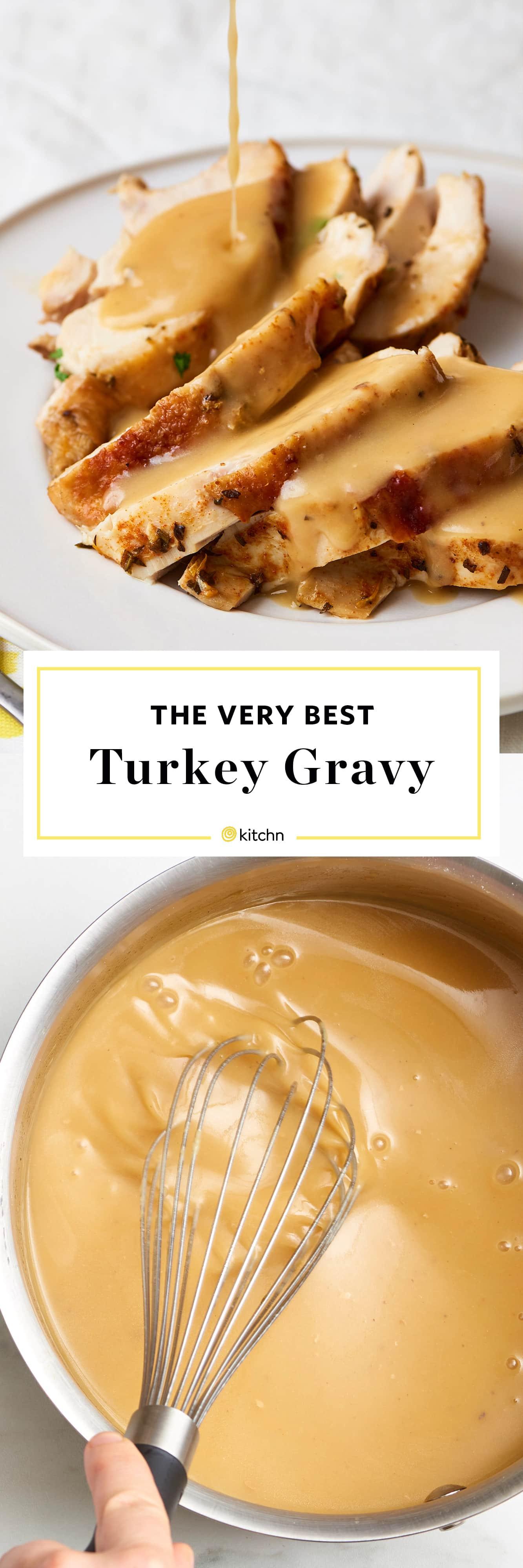 Making Thanksgiving Turkey  Turkey Gravy Recipe How To Make Turkey Gravy