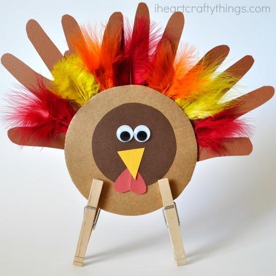 Making Thanksgiving Turkey  Thankful Little Thanksgiving Turkey