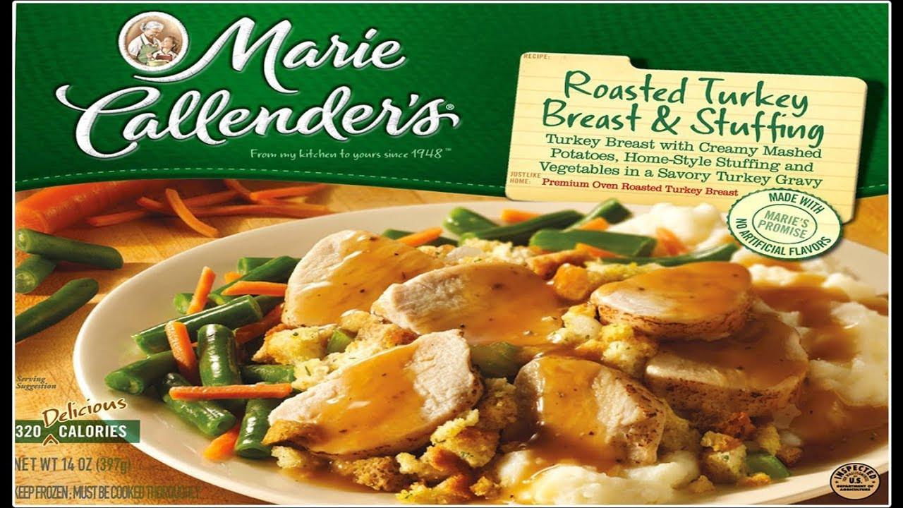Marie Calendars Thanksgiving Dinner  Marie Callender s Oven Roasted Turkey & Stuffing Dinner