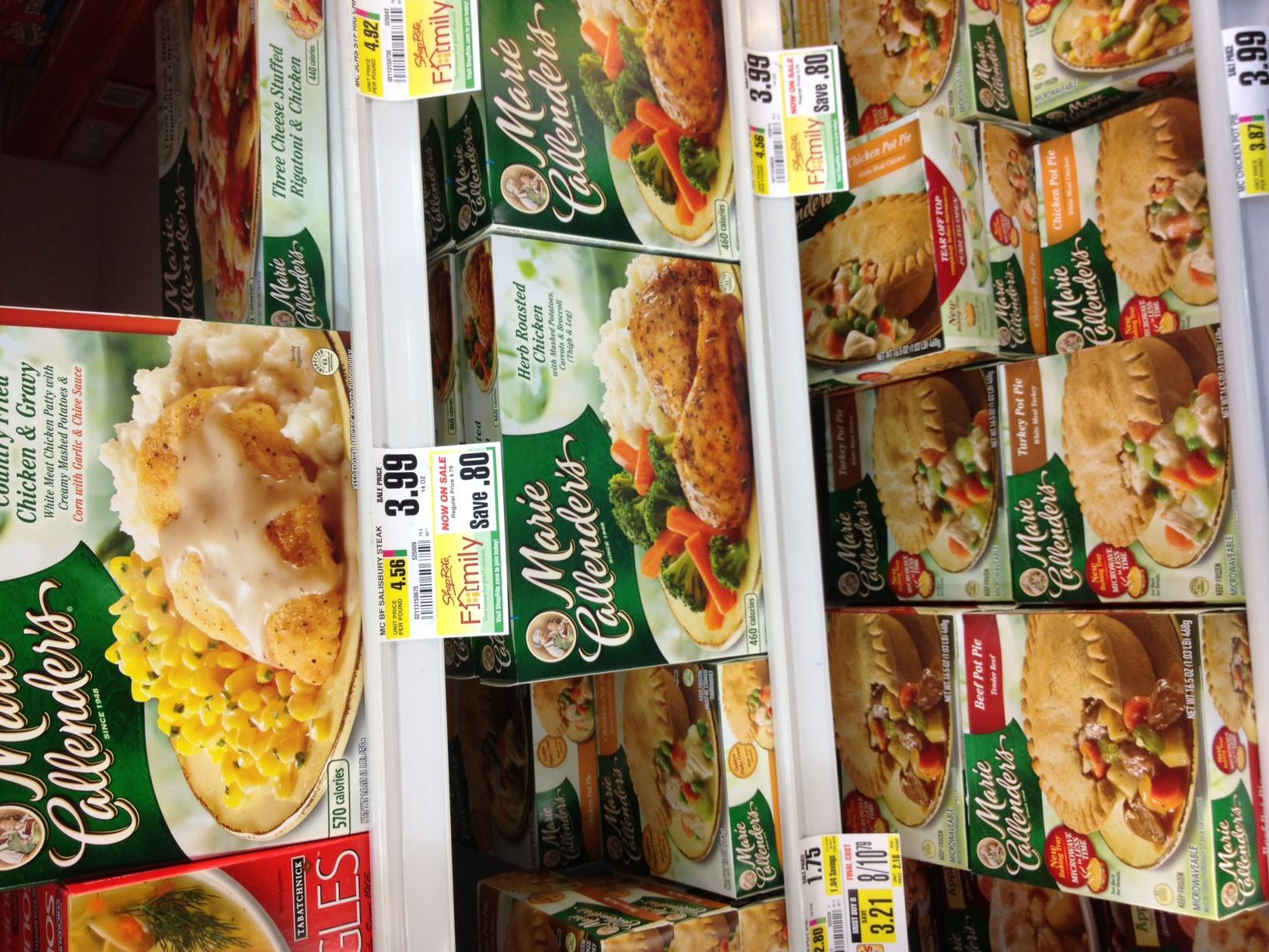 Marie Calendars Thanksgiving Dinner  Review Marie Callender's Pot Pies