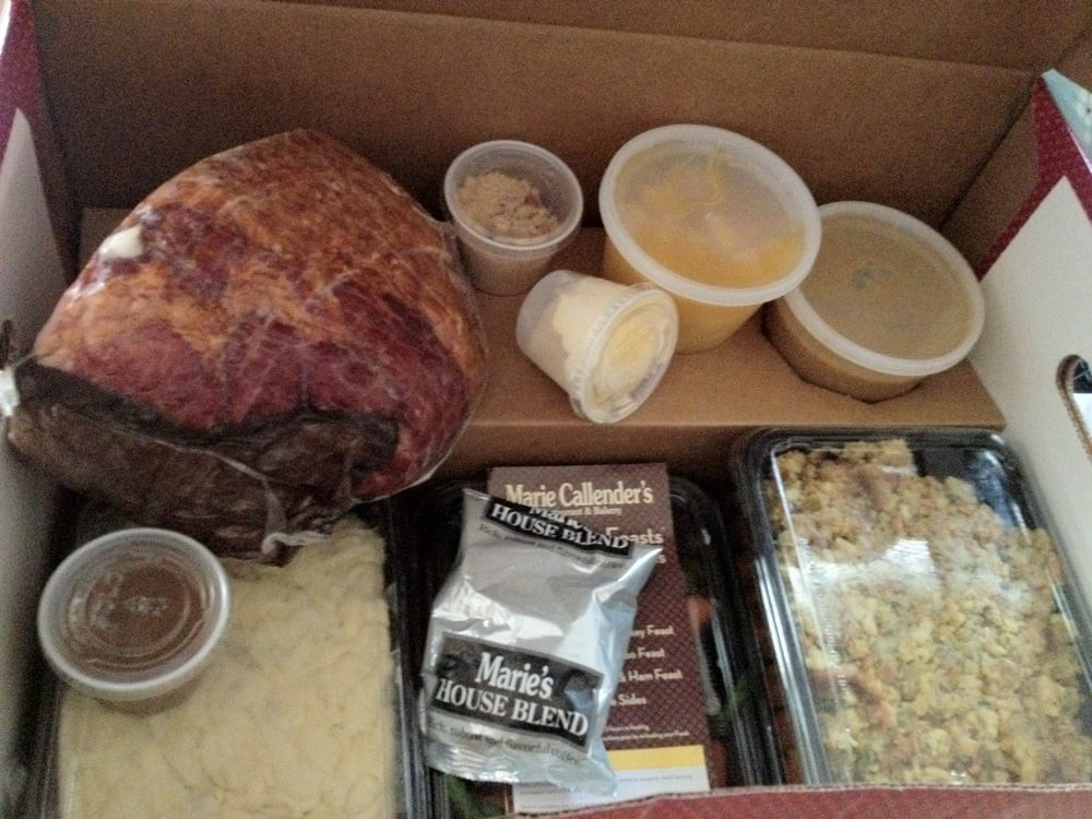 Marie Callender'S Thanksgiving Dinners To Go  Easiest Thanksgiving dinner in a box $$ Yelp