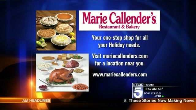Marie Callender'S Thanksgiving Dinners To Go  Marie Callender's Thanksgiving Pies