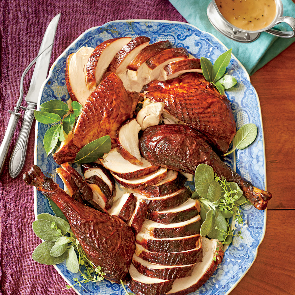 Marinate Thanksgiving Turkey  Dry Brined and Marinated Smoked Turkey Recipe