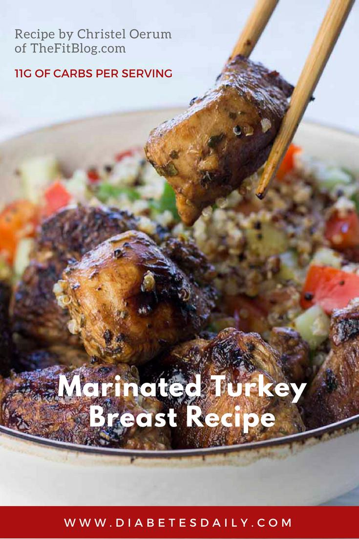 Marinate Thanksgiving Turkey  Marinated Turkey Breast