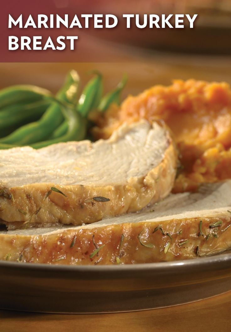 Marinated Thanksgiving Turkey  Marinated Turkey Breast Recipe