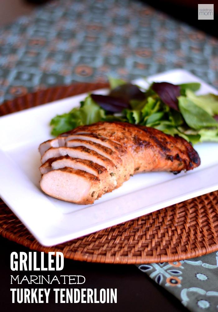 Marinating Thanksgiving Turkey  Grilled Marinated Turkey Tenderloin Recipe