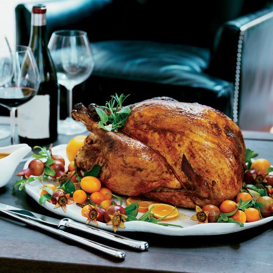 Marinating Thanksgiving Turkey  Citrus Marinated Turkey Recipe Jose Garces
