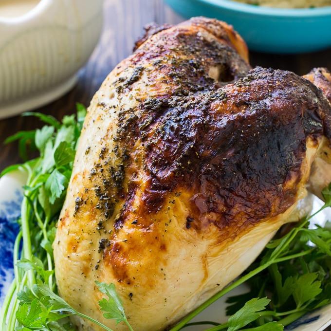 Marinating Thanksgiving Turkey  Buttermilk Marinated Turkey Breast Spicy Southern Kitchen