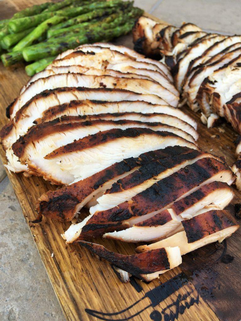Marinating Thanksgiving Turkey  Marinated Smoked Turkey Breast Recipe