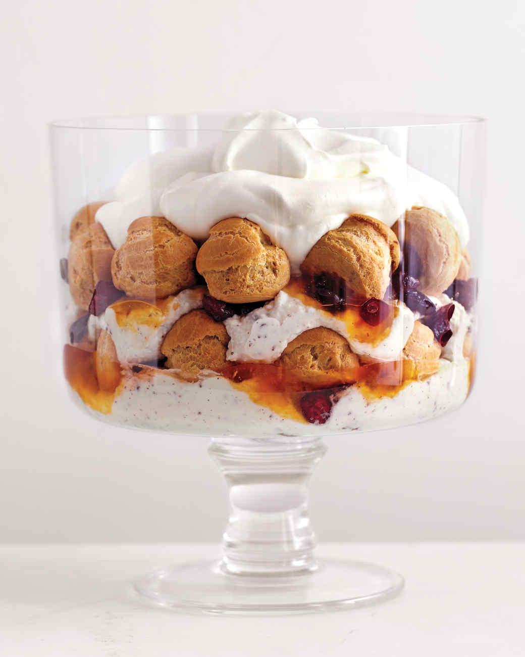 Martha Stewart Christmas Desserts  12 Impressive Holiday Trifle Recipes