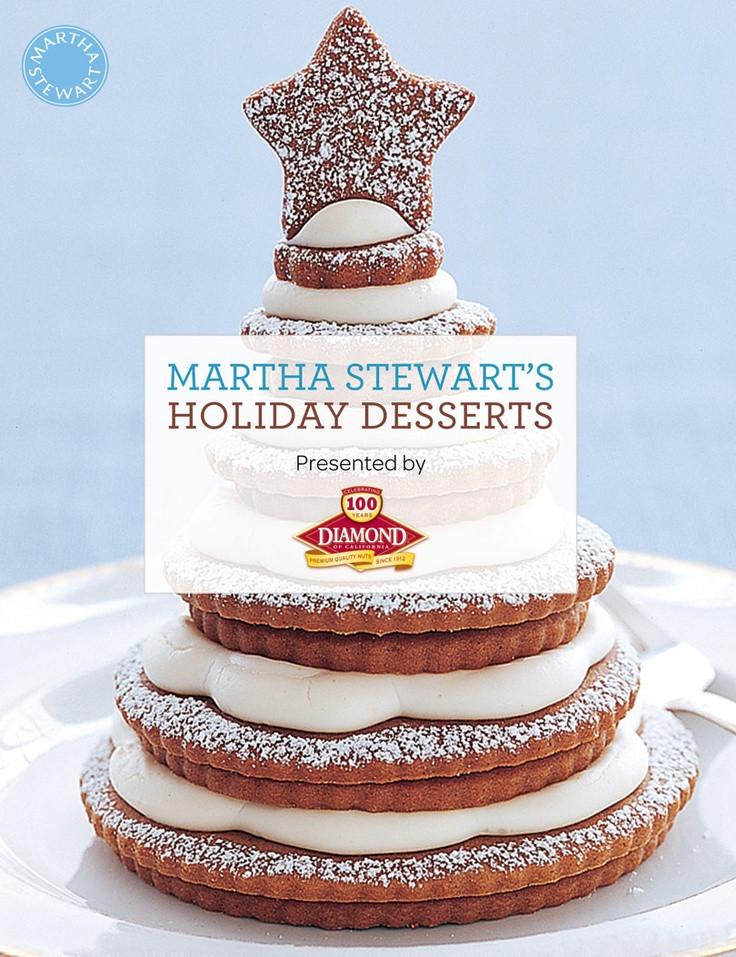 Martha Stewart Christmas Desserts  292 best Cookbook Collection images on Pinterest