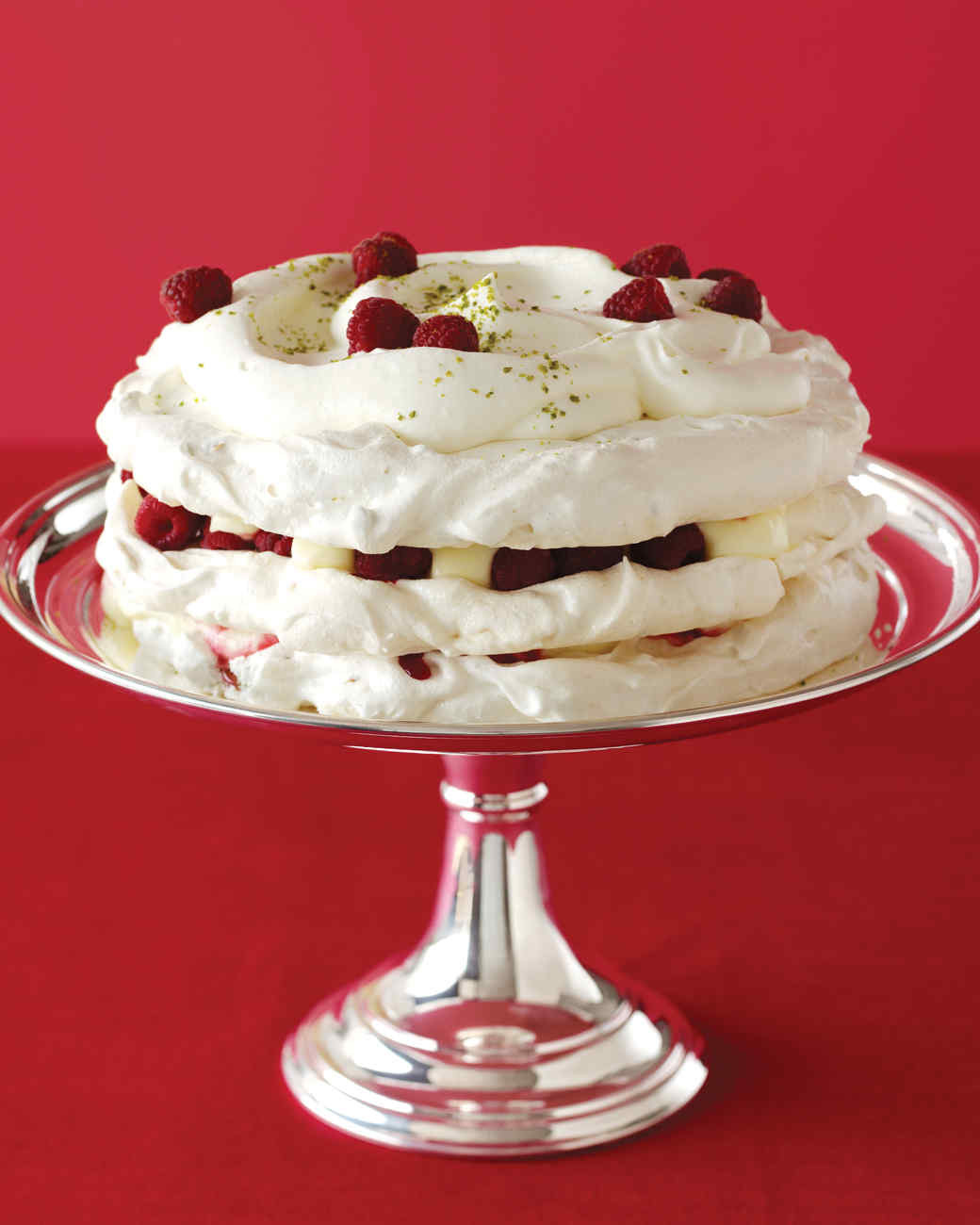 Martha Stewart Christmas Desserts  Pistachio Dacquoise Recipe
