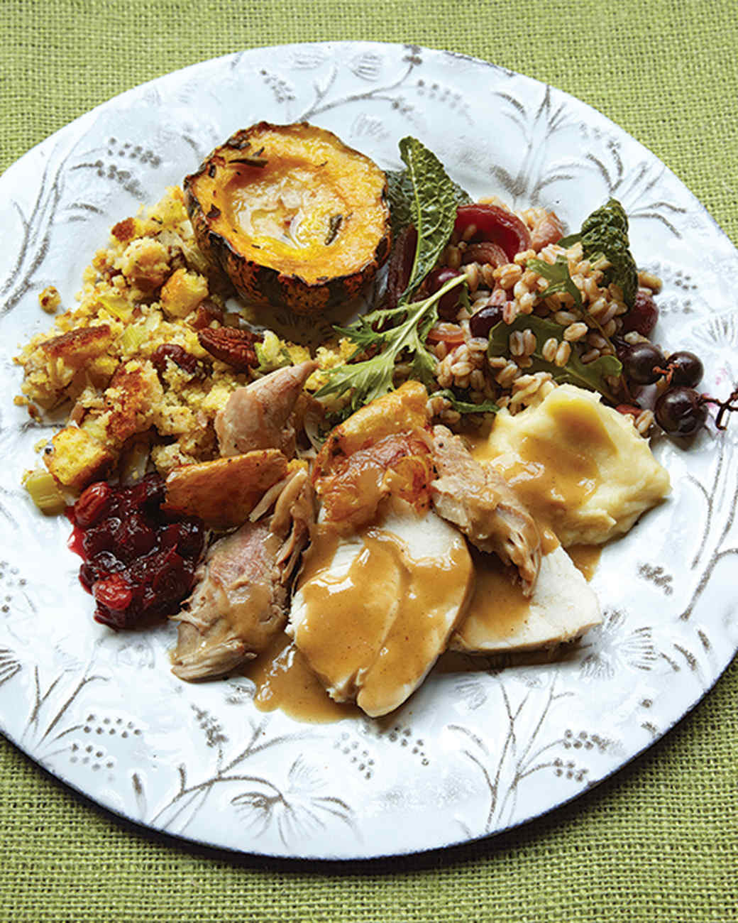 Martha Stewart Thanksgiving Turkey  Thanksgiving Menus