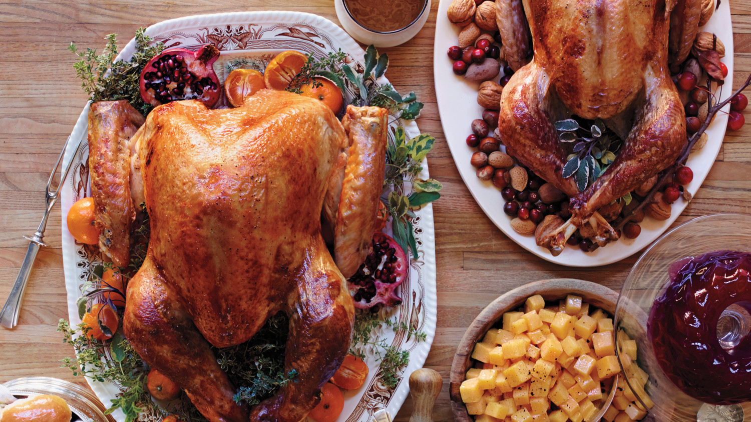 Martha Stewart Thanksgiving Turkey  Thanksgiving Turkey Recipes