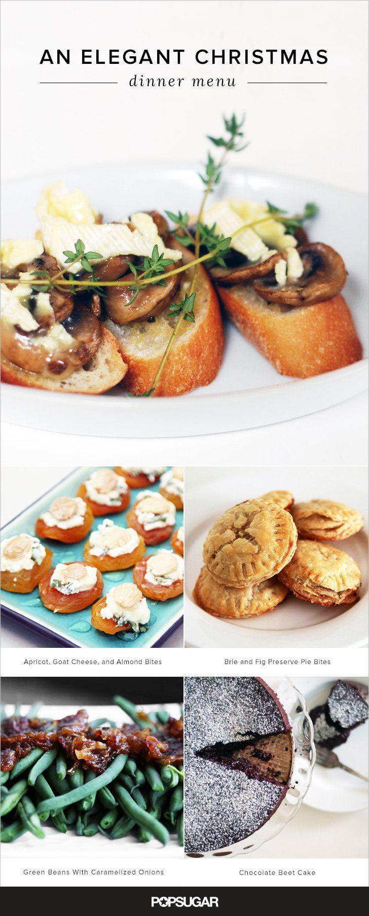 Menus For Christmas Dinners  17 Best ideas about Christmas Dinner Menu on Pinterest
