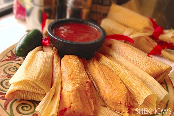 Mexican Christmas Recipes  Christmas tamales recipe