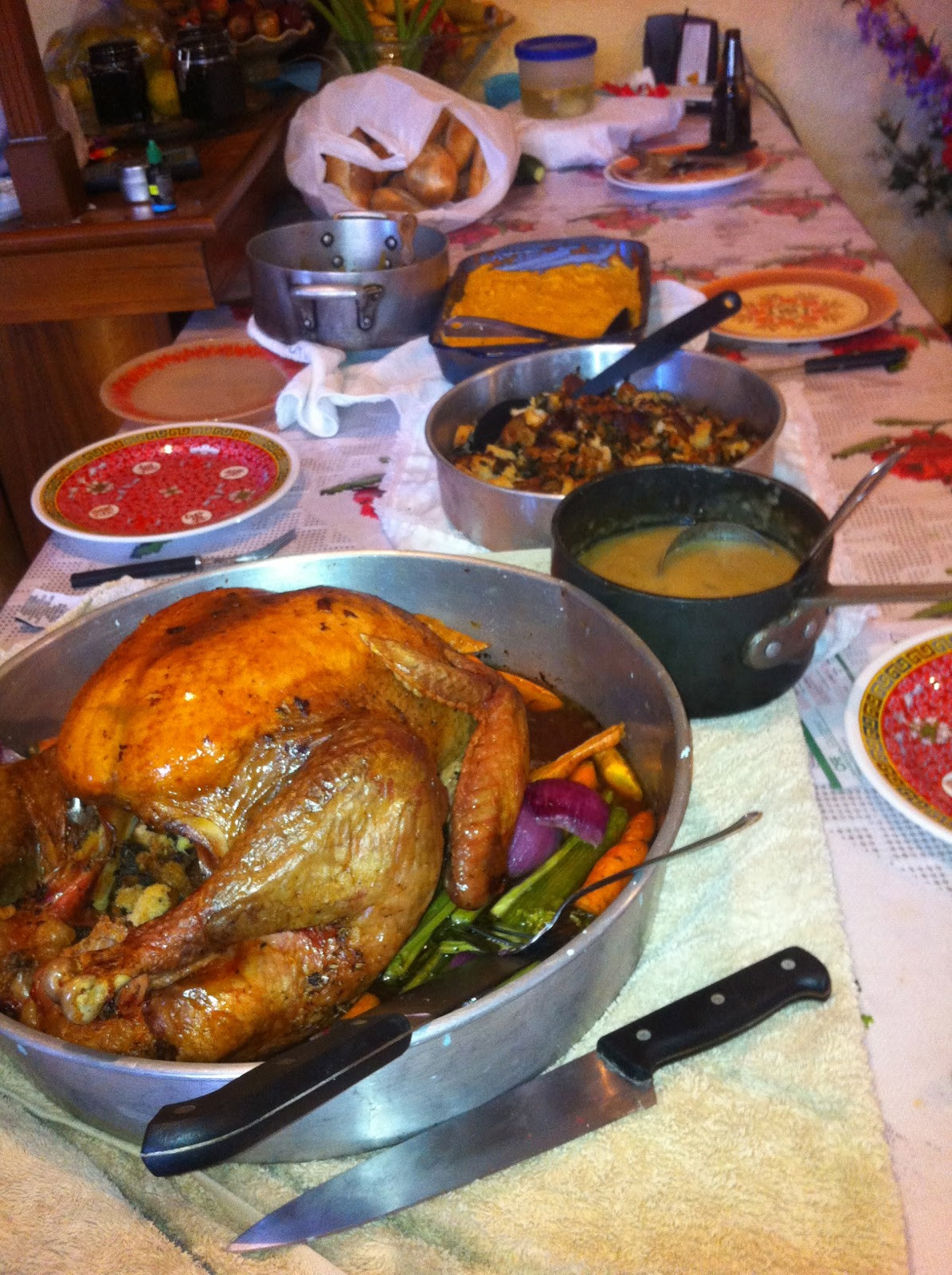 Mexican Thanksgiving Dinners  New to Mexican Life Thanksgiving in Oaxaca