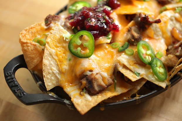 Mexican Thanksgiving Dinners  How to Make Thanksgiving Leftovers Nachos Chowhound