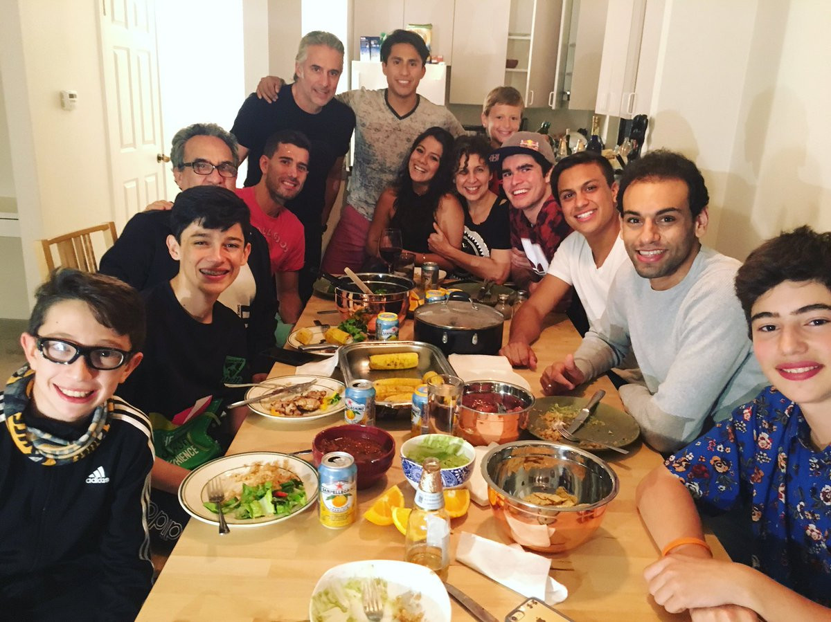 """Mexican Thanksgiving Dinners  Mohamed Elshorbagy on Twitter """"Dinner with my Mexican"""