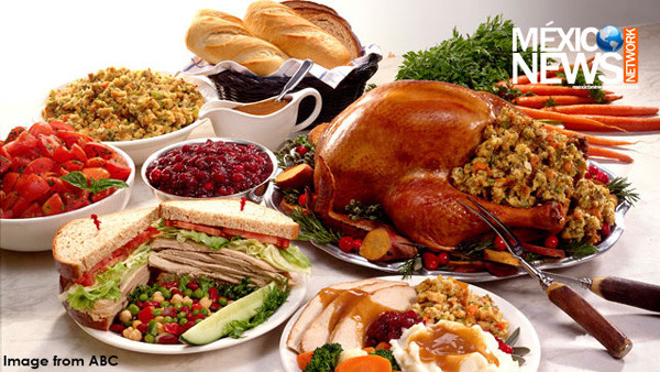Mexican Thanksgiving Dinners  Thanksgiving… with a Mexican twist Mexico News Network